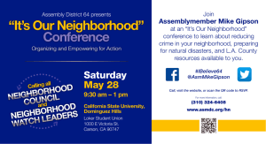 """It`s Our Neighborhood"" Conference"