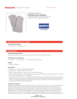 Guantes para soldador - Honeywell Safety Products