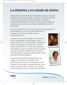 La diabetes y su estado de ánimo