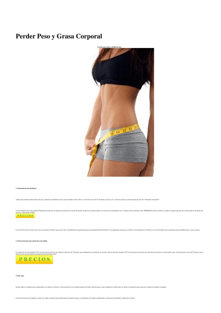 dietas inteligentes de pérdida de peso