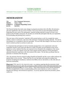memorandum - Diocese of Brooklyn