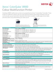 WorkCentre 7500 Series Multifunction Printer