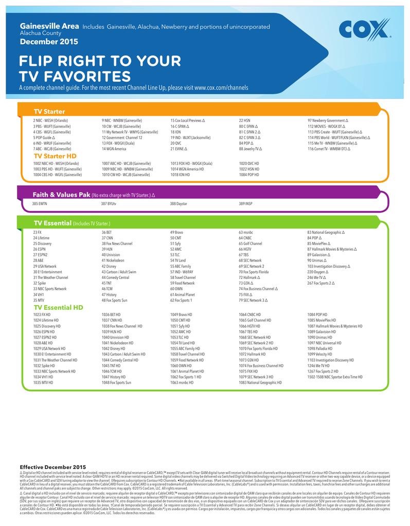 Printable tv listings_e993. Com.