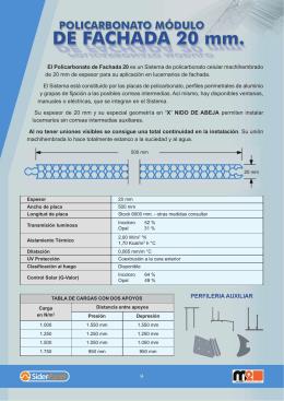 Catalogo sider panel - Placas de fibrocemento precios ...