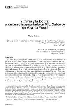 Virginia y la locura: el universo fragmentado en Mrs. Dalloway de