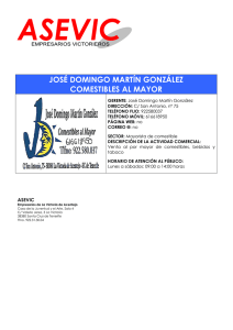 josé domingo martín gonzález comestibles al mayor