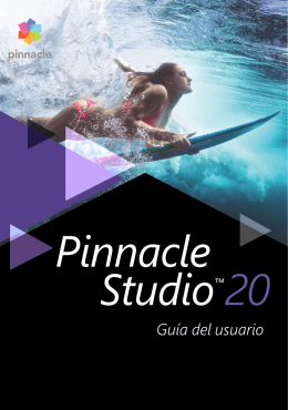 Guía del usuario de Pinnacle Studio 20