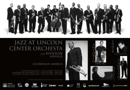 JAZZ AT LINCOLN CENTER ORCHESTA