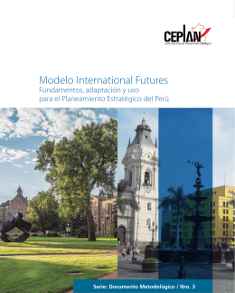Modelo International Futures - Pardee Center for International Futures