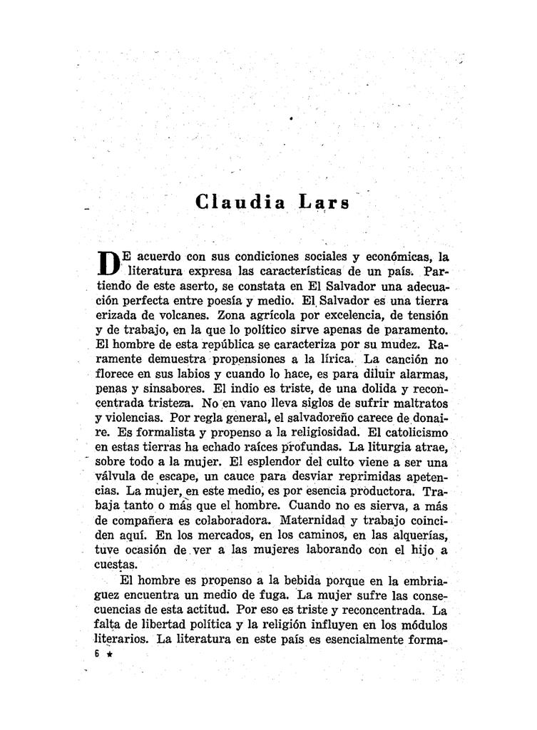 Claudia Lars Revista Iberoamericana