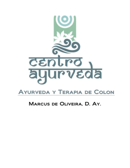 Ayurveda y Terapia de Colon
