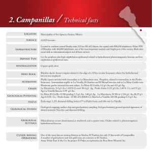 2. Campanillas / Technical facts