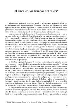 El Amor En Los Tiempos De Colera Gabriel Garcia Marquez