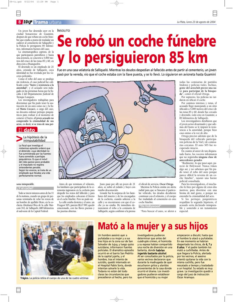 Encantador Cuerpo En Los Coches De Trama Composición - Ideas ...