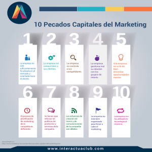 10 Pecados Capitales del Marketing