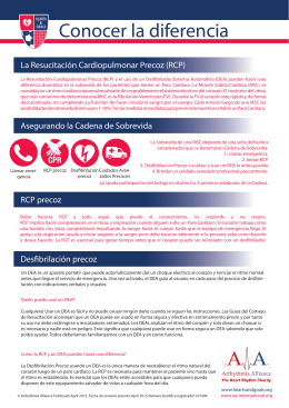 Conocer la diferencia - Arrhythmia Alliance International