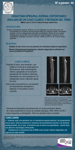 Diapositiva 1 - Instituto de Neurologí