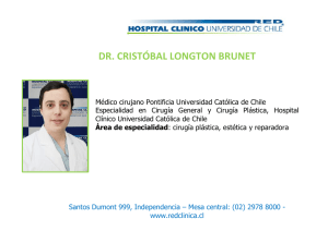 dr. cristóbal longton brunet - Hospital Clínico Universidad de Chile
