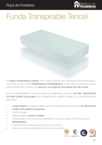 Funda Transpirable Tencel