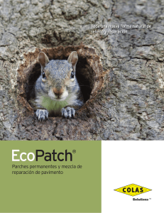 EcoPatch - Colas Solutions