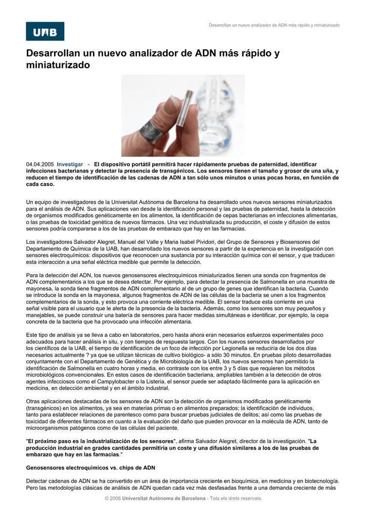pruebas de adn en farmacias