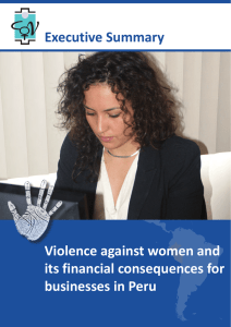Violence against women and its financial consequences for