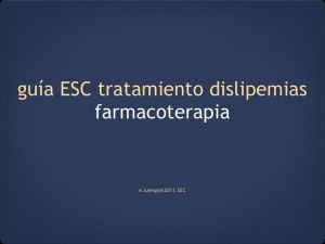 Terapias farmacológicas