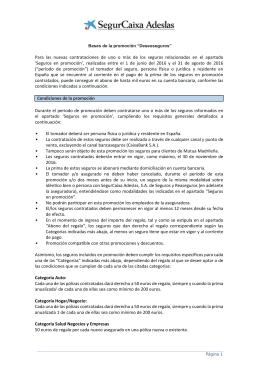 Folleto editable hogar a4 for Oficinas de adeslas en barcelona