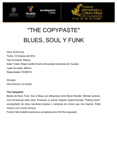 """THE COPYPASTE"" BLUES, SOUL Y FUNK"