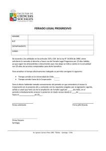 feriado legal progresivo