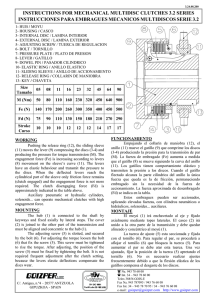 instructions for mechanical multidisc clutches 3.2 series