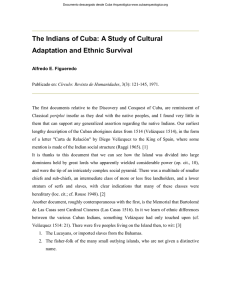 The Indians of Cuba: A Study of Cultural Adaptation and Ethnic