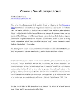 EL KRAUZE ENRIQUE PDF Y EL PODER DELIRIO