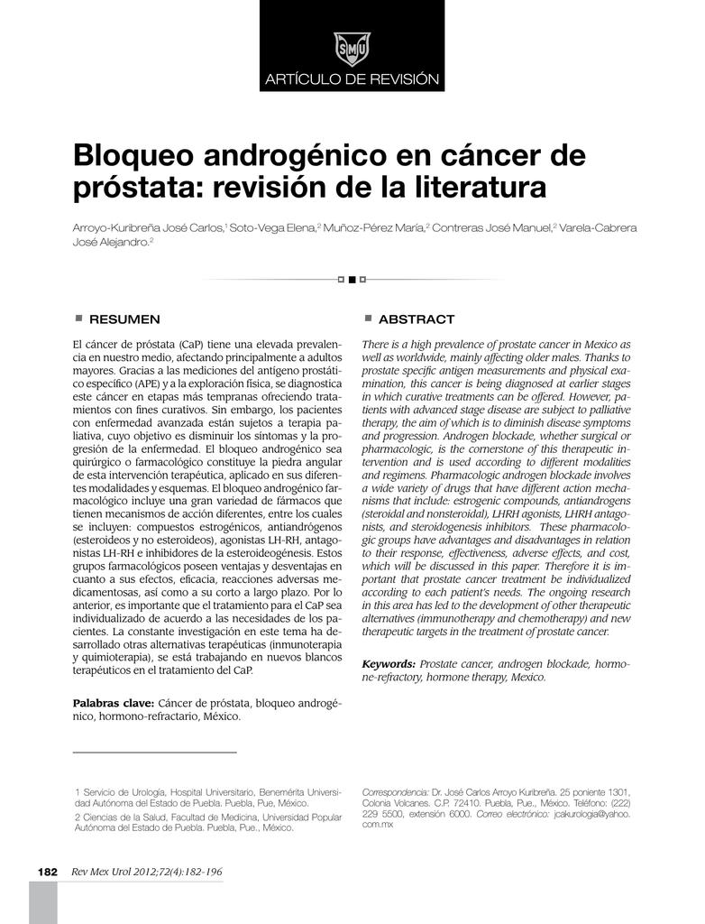 Dr. scholz cáncer de próstata