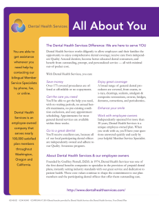 All About You - Dental Health Services