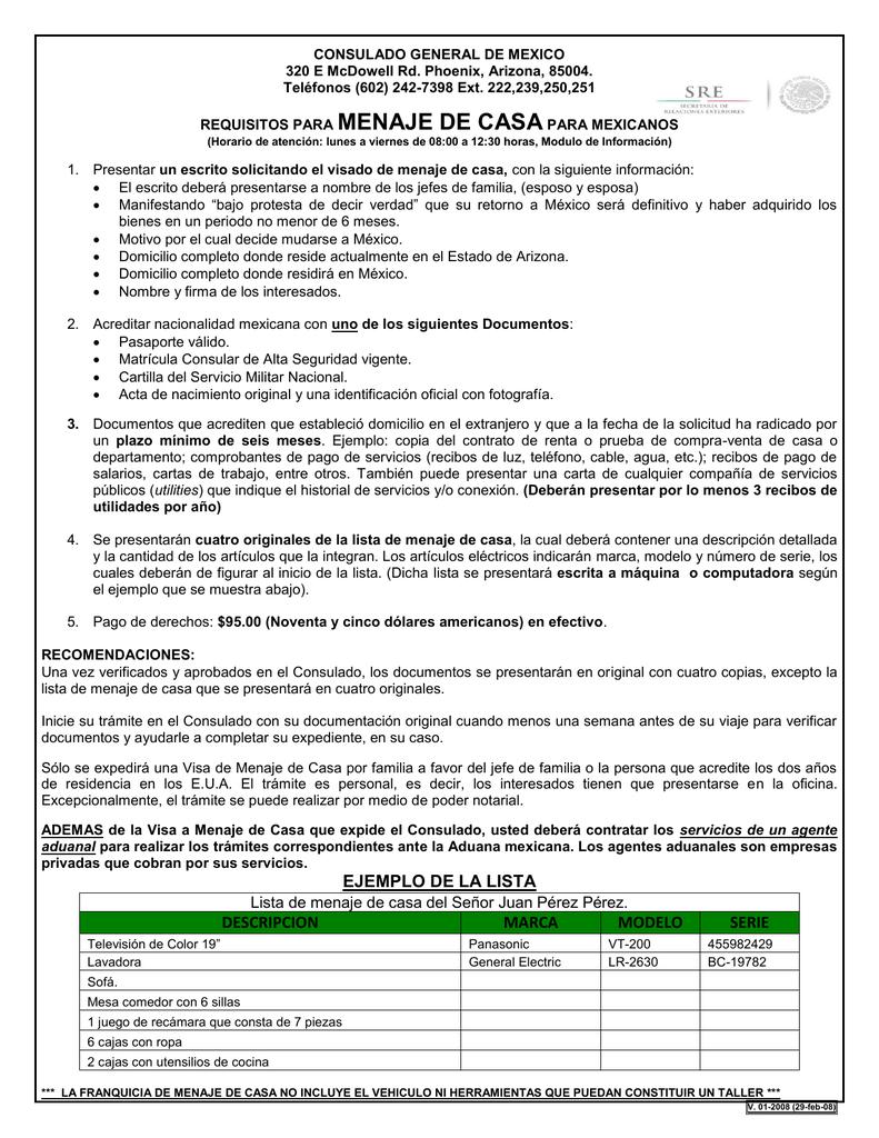 CONSULADO GENERAL DE MEXICO EN PHOENIX