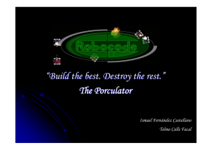 """Build the best. Destroy the rest."" The Porculator"