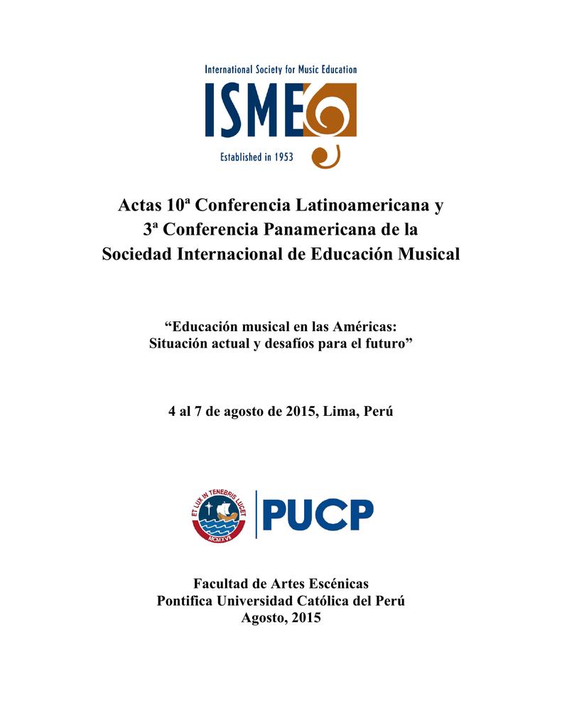 Actas 10 conferencia latinoamericana y 3 conferencia fandeluxe Gallery