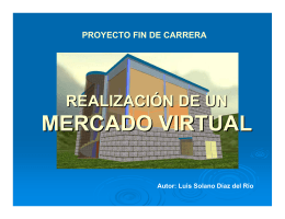 """Realización de un MERCADO VIRTUAL"""