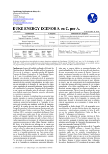 Duke Energy Egenor
