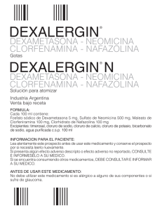 DEXALERGIN GOTAS+N IP