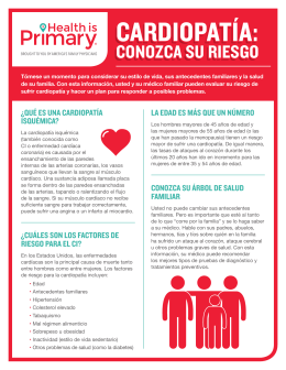 cardiopatía - Health is Primary