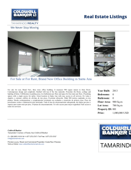 For Sale or For Rent, Brand New Office Building in Santa Ana