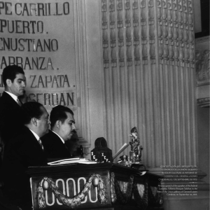 answer speech of the speaker of the federal congress, gilberto