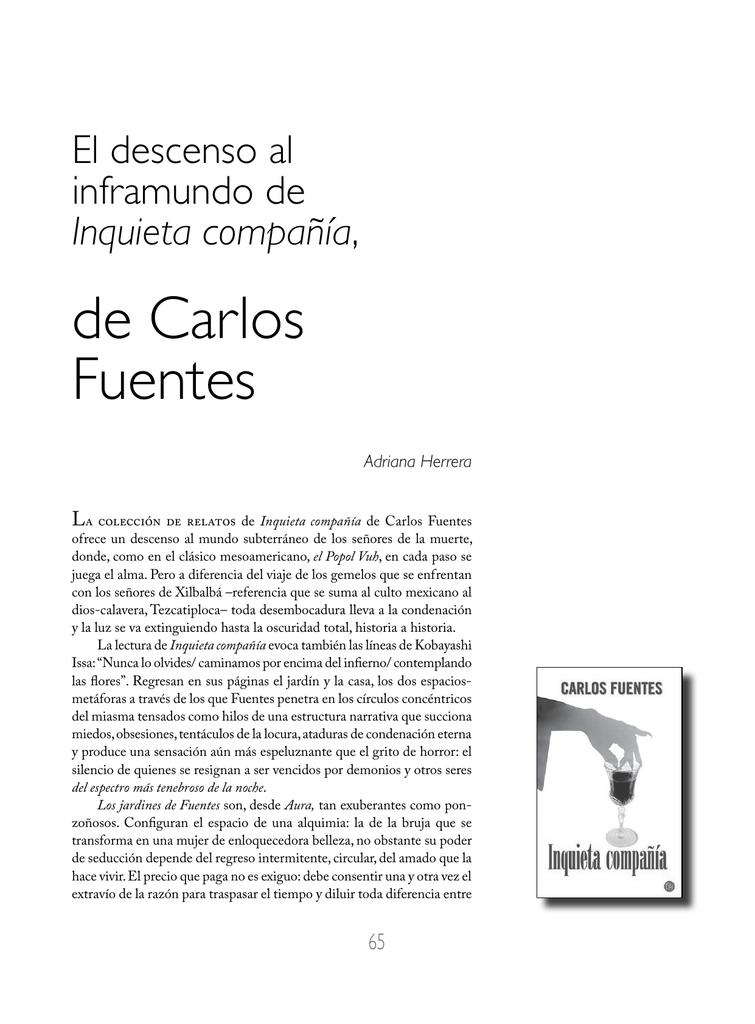 De Carlos Fuentes