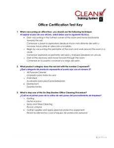 Office Certification Test Key