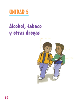 Alcohol, tabaco y otras drogas - American Kinesiology Association