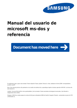 Manual del usuario de microsoft ms