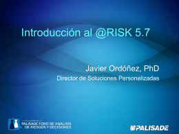 Introducción al @RISK 5.7
