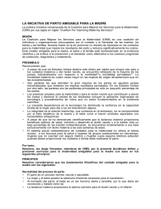 MFCI Spanish 09 - Coalition for Improving Maternity Services